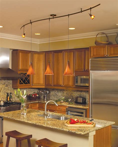kitchen lighting ideas island wonderful kitchen track lighting ideas midcityeast