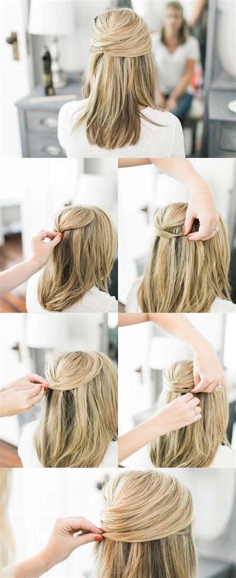 medium hair tutorials ideas  pinterest easy hair braids braids  medium hair