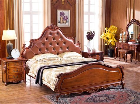 Classical Bedroom Furniture Sets  High End Solid Wood