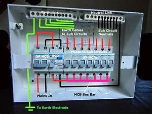 The Detailed Internal Wiring For The Sample Db And Mcbs And Rcd Units  U202a  U200eelectronicstudents