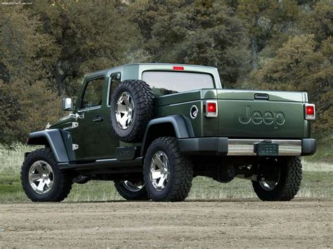 jeep concept truck gladiator jeep may enter the pickup market with jeep gladiator