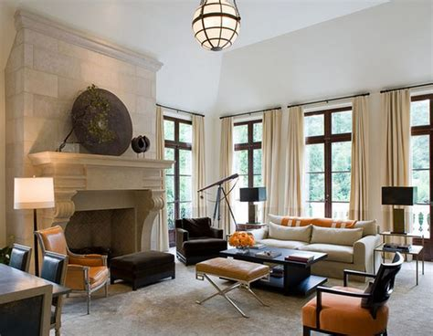 salon ancien modern deco maison moderne