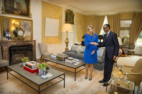 B&l Home Interiors : Dutch Royals Welcome President Of Rwanda