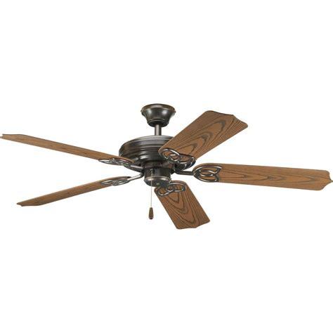 home depot outdoor fans progress lighting airpro 52 in antique bronze indoor