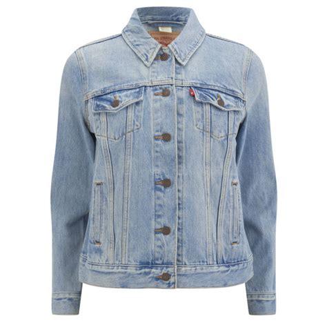 Levi's Women's Boyfriend Trucker Denim Jacket   Blue Cliff   Free UK Delivery over £50