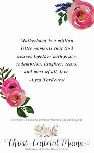 15 Beautiful Christian Mother's Day Card Quotes   Christ ...
