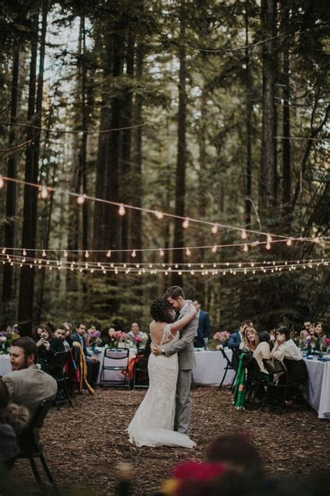 wedding in the woods nature wedding outdoor wedding inspiration pinterest woods wedding