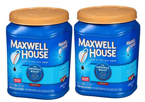 Maxwell House Ground Coffee Original Roast 42.5 Oz Pack Of Free Coffee Today Glass Cups Ebay Royal Farms Blown Mugs Next Edmonton Big W Nz