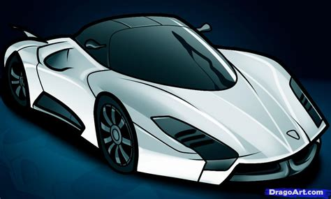 supercar drawing how to draw a ssc ultimate aero ii ssc ultimate aero ii