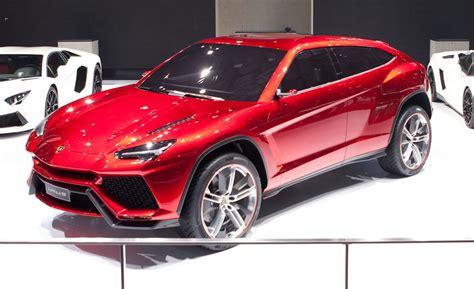 lamborghini urus concept auto shows car  driver