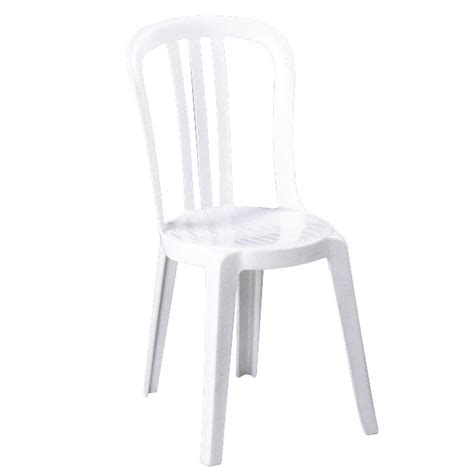 chaise de bistrot blanche chaise de jardin miami bistrot blanc 873364 achat