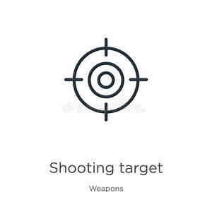 Sport Target Vector Shooting Stock Vector