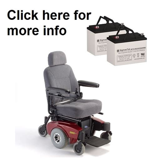 Pronto Power Chair Batteries by Invacare Pronto M71 Power Wheelchair Replacement Battery