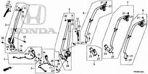 Oem 2012 Honda Civic Sedan Seat Belts Parts