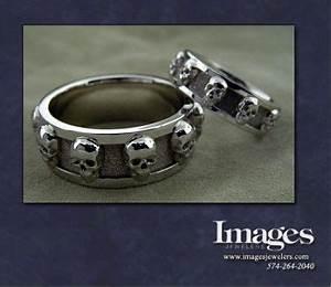Pin by jannine greg oates on skulls pinterest for Matching skull wedding rings