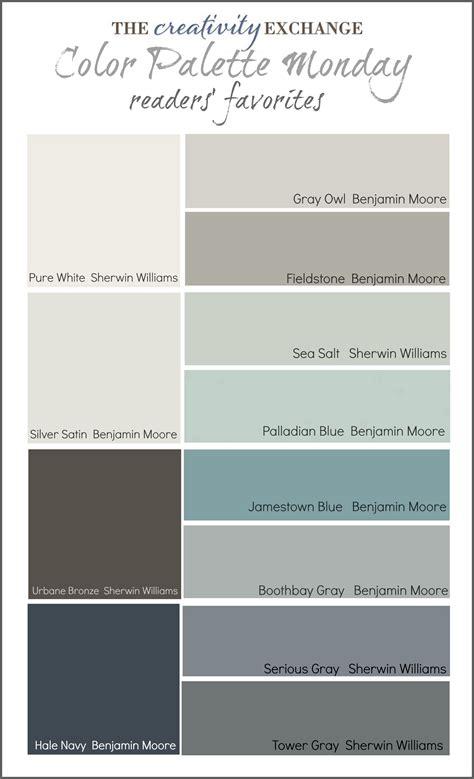 top sherwin williams neutral readers 39 favorite paint colors color palette monday