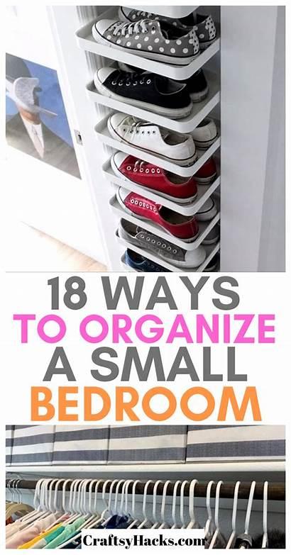 Organization Bedroom Hacks