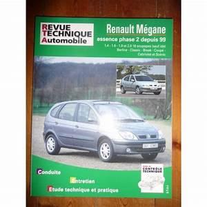 Revue Technique Megane 2 : rta revues technique automobile renault megane essence phase 2 depuis 1999 ~ Maxctalentgroup.com Avis de Voitures