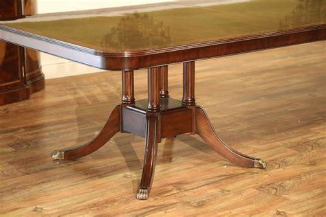 custom american  mahogany dining room table