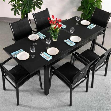 ensemble table et chaise salle à manger best table a manger verre contemporary lalawgroup