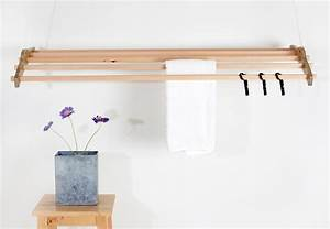 Pics For > Hanging Clothes Drying Rack