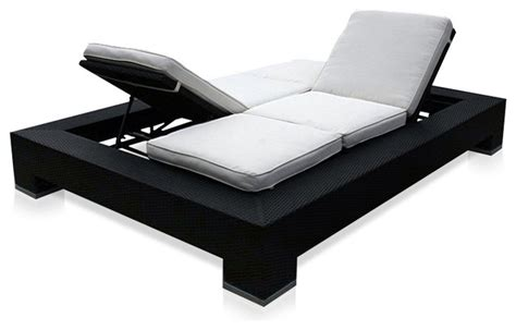outdoor duo convertible lounger contemporary outdoor