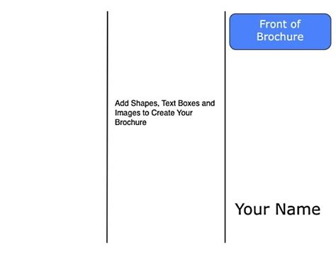 docs booklet template brochure templates for docs csoforum info