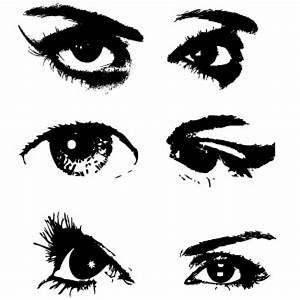 Eyes vector set Vector   Free Download