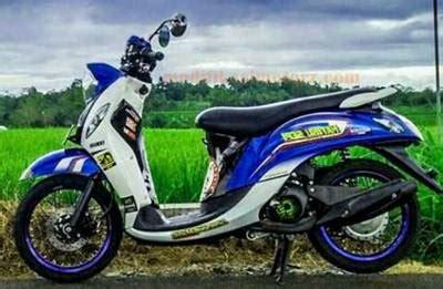 Modif Fino 125 by 24 Foto Terbaik Modifikasi Yamaha Mio Fino 125 Terbaru