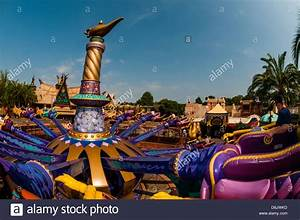 The magic carpets of aladdin ride adventureland magic for Aladdin carpet ride magic kingdom