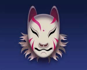 Japanese Kitsune Mask