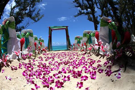 Wedding In North & Central America Hawaii  Marry Me Abroad