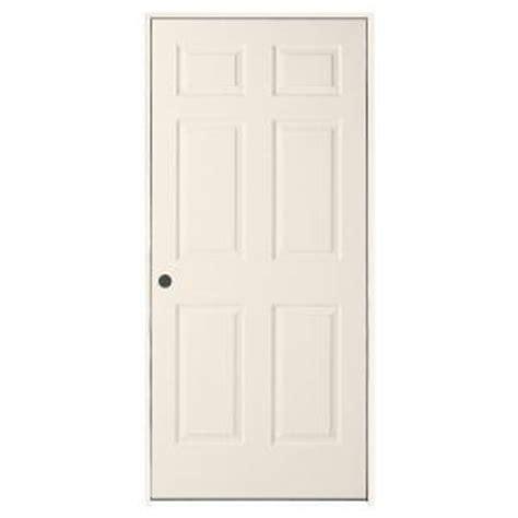 home depot 6 panel interior door jeld wen 30 in x 80 in woodgrain 6 panel primed molded