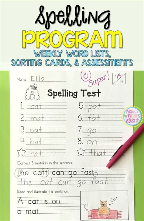 1000+ Images About Spelling On Pinterest  Teaching, Math I And Homework