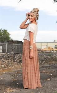 Crop Top And Maxi Skirt Outfit Ideas u2013 Glam Radar
