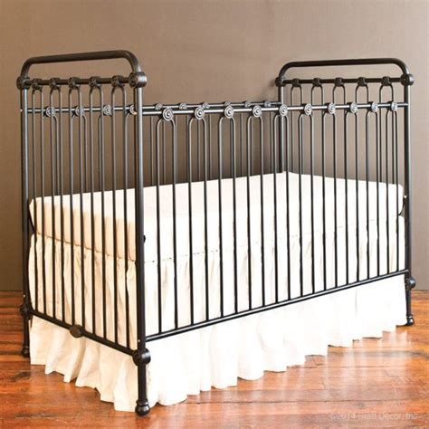 bratt decor crib satin white 25 best ideas about iron crib on nursery crib