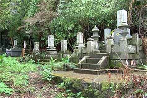 bos bloemen crematie overlijden en begraven in japan