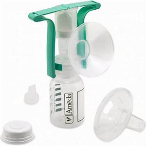 Ameda One Handed Manual Breast Pump