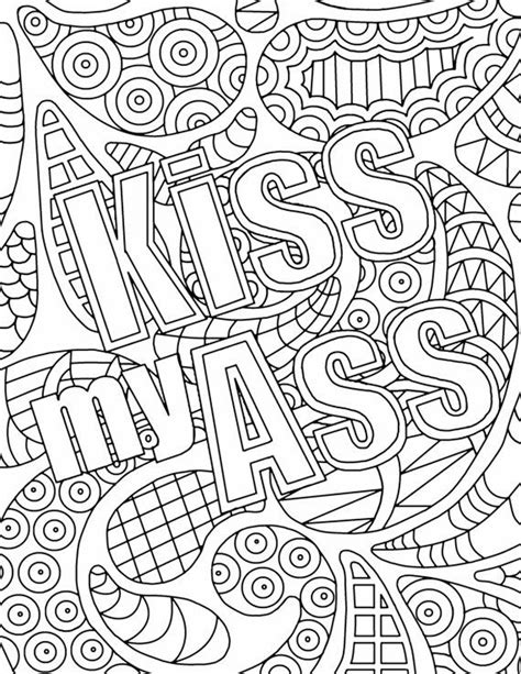 words coloring pages  adults images  pinterest adult coloring pages coloring