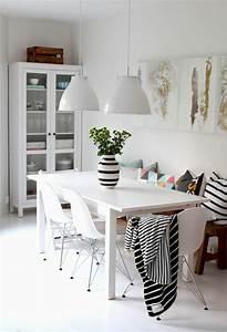 voici la salle a manger contemporaine en 62 photos With salle À manger contemporaine avec meuble scandinave bois et blanc