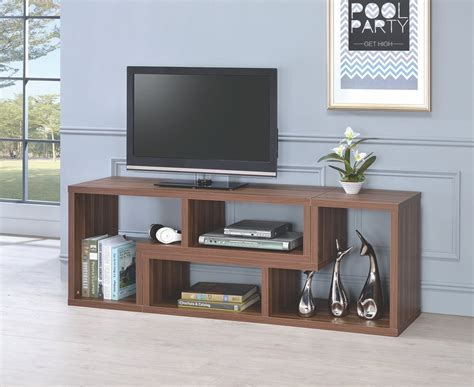 Tv Stands With Bookcases by Walnut Bookcase And Tv Stand 802329 By Coaster