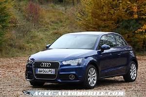Audi A1 Tfsi 122 : essai audi a1 1 4 tfsi 122 s tronic bilan galerie photos caract ristiques actu ~ Gottalentnigeria.com Avis de Voitures