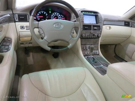 lexus ls430 interior ivory interior 2001 lexus ls 430 photo 75414110