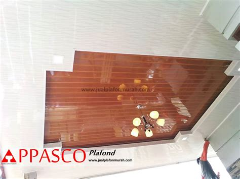 atap plafon minimalis modern  pvc cantik kayu jasa