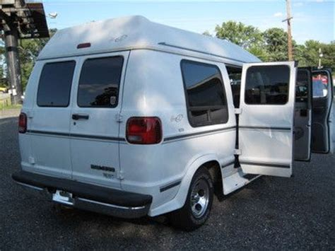 sell used 1992 dodge ram van white normal wear and tear in fountain valley california sell used 1999 dodge b1500 conversion van se auto nice in waldorf maryland united states