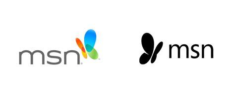 best homepage design brand logo for msn