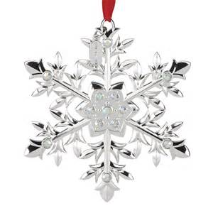 snow majesty snowflake ornament 2016 snowflake decoration lenox ornaments