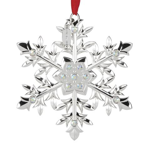 Snow Majesty Snowflake Ornament