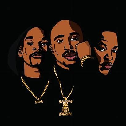 Snoop Dogg Dre Dr Tupac Behance Death