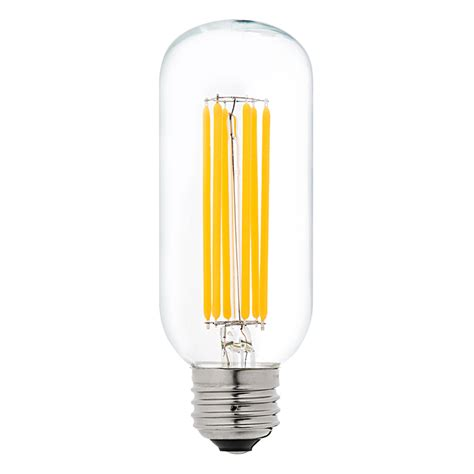 t14 led filament bulb 75 watt equivalent vintage light